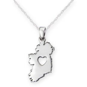 From The Heart Of Ireland Silver Pendant 9821